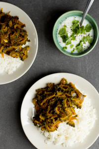 Bitter Gourd Fry (Pavakkai Fry) Recipe and Food Photography by Shika Finnemore, The Bellephant