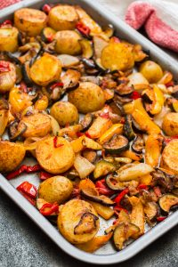 Spicy Mediterranean Roast Vegetables Recipe and Food Photography by Shika Finnemore, The Bellephant