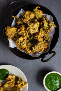 Vegetable Pakora Recipe and Food Photography by Shika Finnemore, The Bellephant