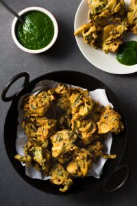 Vegetable Pakora Recipe and Food Photography by Dharsika Finnemore, The Bellephant