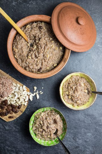 Sweet Pongal (Sri Lankan Rice Pudding) Recipe and Food Photography by Shika Finnemore, The Bellephant