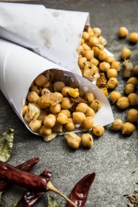 Sri Lankan Devilled Chickpeas Recipe and Food Photography by Shika Finnemore, TheBellephant.com