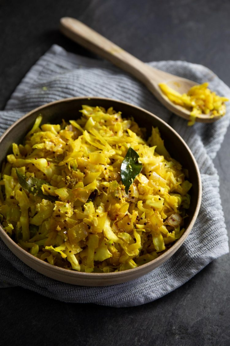 Sri Lankan Cabbage Varai Recipe by