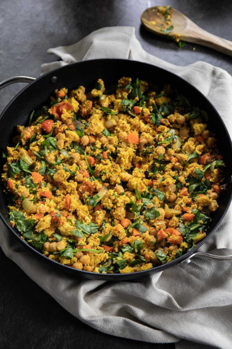 Curried Vegetable Couscous Recipe & Food Photography by Shika Finnemore - The Bellephant www.thebellephant.com